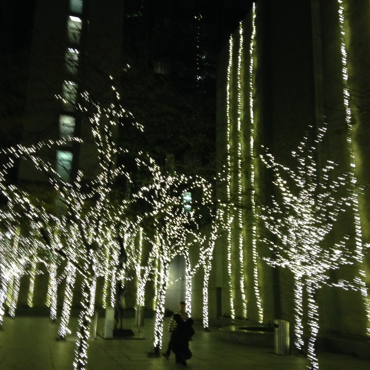 light trees