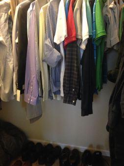 Aral's closet